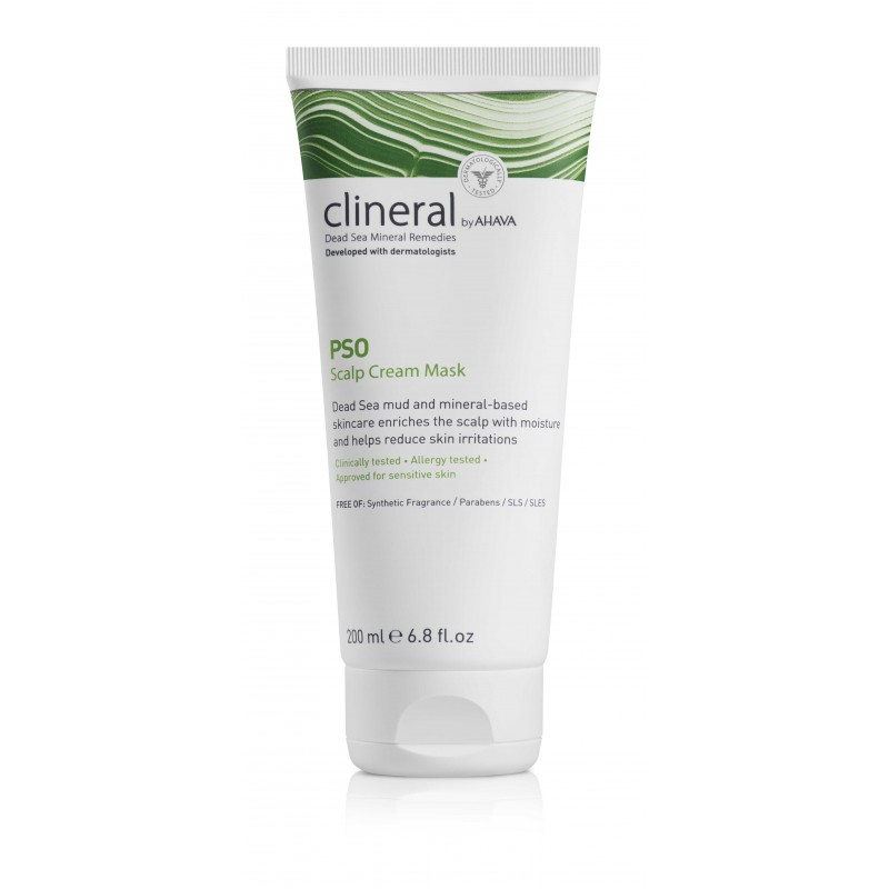 PSO Masque Cuir Chevelu Clineral 200 ml