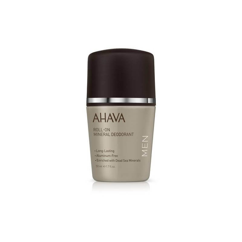 Roll-On Déodorant Minéral Homme Time to Energize Ahava 50ml