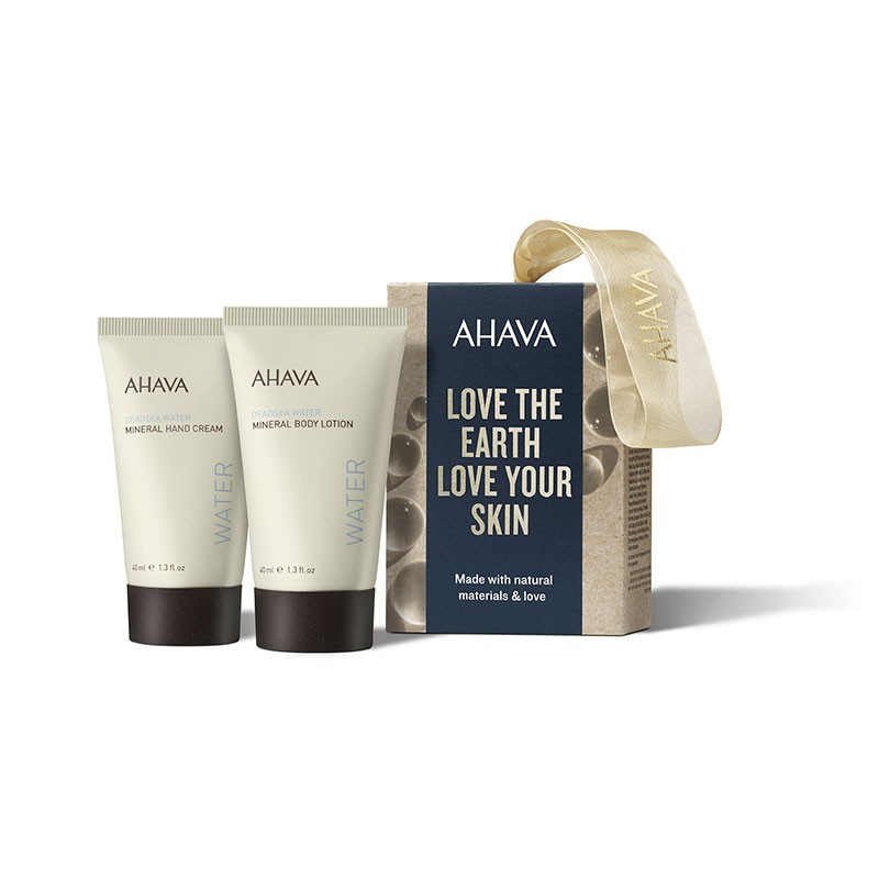 Kit « Naturellement belle, mains et corps » AHAVA