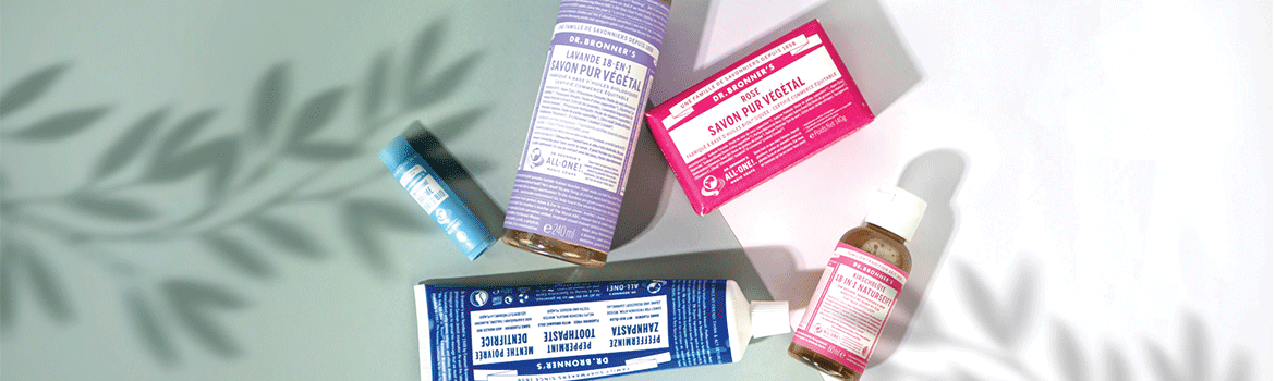 Banniere dr bronner's